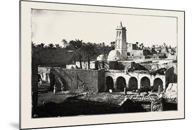 The Mosque of Sidi Okba, Algeria, 1890--Mounted Giclee Print