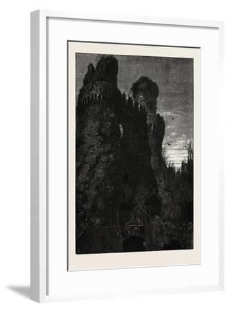 Hurstmonceaux Castle, Uk, 19th Century--Framed Giclee Print