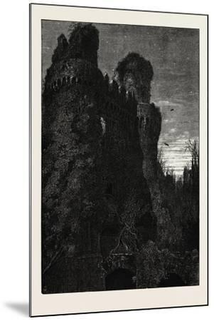 Hurstmonceaux Castle, Uk, 19th Century--Mounted Giclee Print