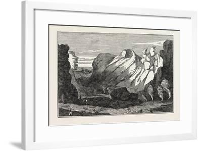The Crater on the Peak of Teneriffe--Framed Giclee Print
