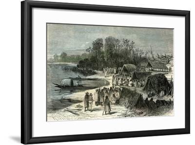 L'Isle Santa-Rosa 1869, Peru--Framed Giclee Print