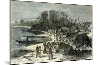 L'Isle Santa-Rosa 1869, Peru--Mounted Giclee Print