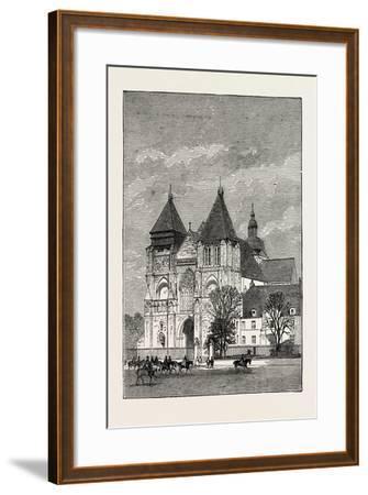 Church at Le Mans, France, 1871--Framed Giclee Print