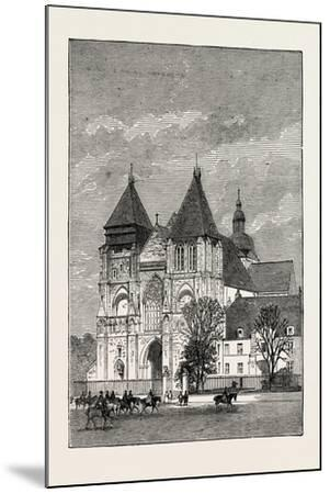 Church at Le Mans, France, 1871--Mounted Giclee Print
