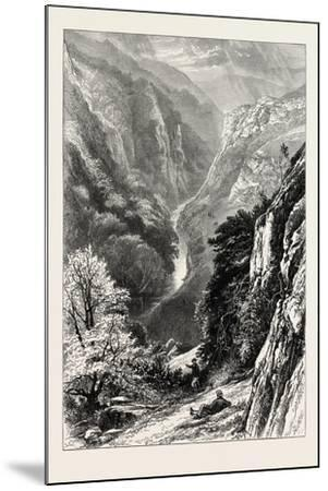 In Dove Dale, UK, 19th Century--Mounted Giclee Print