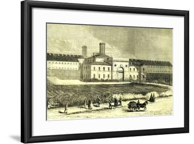 Dublin Ireland 1866 Mountjoy Prison--Framed Giclee Print