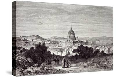 View of St. Peter's and the Vatican--Stretched Canvas Print
