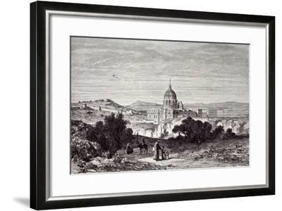 View of St. Peter's and the Vatican--Framed Giclee Print