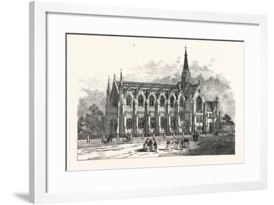 Leeds New Grammar School, UK--Framed Giclee Print