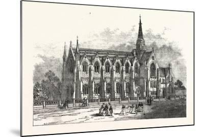 Leeds New Grammar School, UK--Mounted Giclee Print