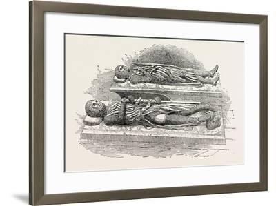 Tombs of Knights Templars London--Framed Giclee Print