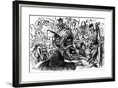 Charles Dickens Barnaby Rudge, 1841--Framed Giclee Print