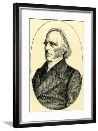 Menk D'Aubigne Switzerland--Framed Giclee Print