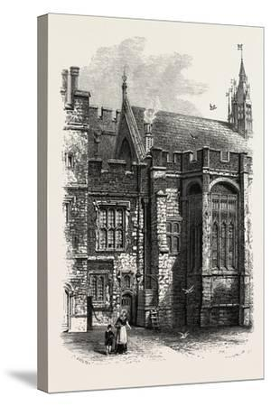 Eton, the College Hall, UK--Stretched Canvas Print