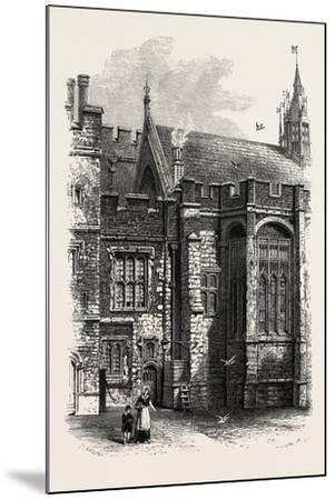 Eton, the College Hall, UK--Mounted Giclee Print