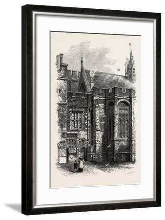 Eton, the College Hall, UK--Framed Giclee Print