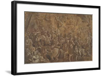 The Soldiers Crowned--Framed Giclee Print