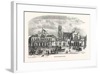 The New Exchange, Paris--Framed Giclee Print