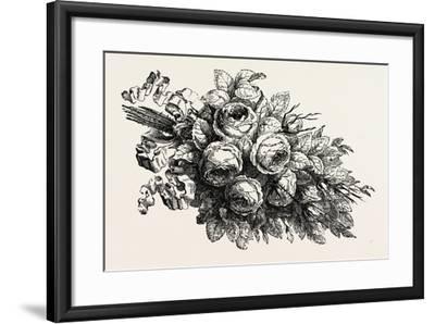 Flowers, 19th Century--Framed Giclee Print