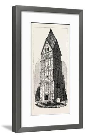 Earl's Barton Lincolnshire--Framed Giclee Print