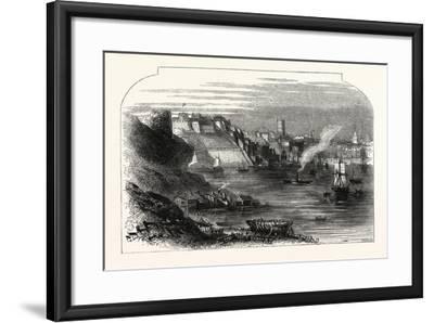 Plymouth, UK--Framed Giclee Print