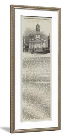 St Marylebone--Framed Giclee Print