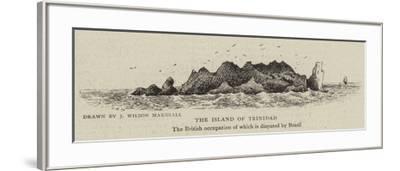 The Island of Trinidad--Framed Giclee Print