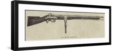 The British Swivel Gun--Framed Giclee Print