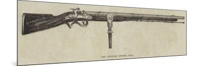 The British Swivel Gun--Mounted Giclee Print