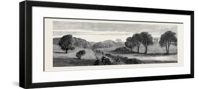 In the Meath Hunting Country: Holywood Rath House Ireland 1879--Framed Giclee Print