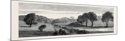 In the Meath Hunting Country: Holywood Rath House Ireland 1879--Mounted Giclee Print