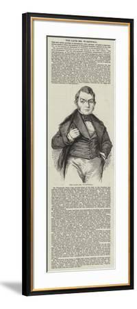 The Late Mr Wombwell--Framed Giclee Print