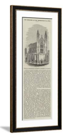 French Protestant Church, St Martin-Le-Grand--Framed Giclee Print