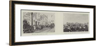 The New Fire Station at Acton--Framed Giclee Print