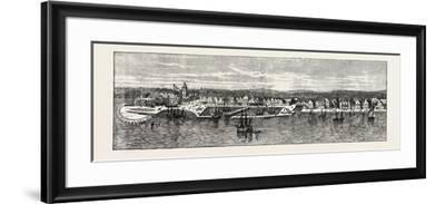 New York in the Middle of the Eighteenth Century, USA, 1870s--Framed Giclee Print