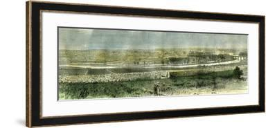 Aberdeen from the South Uk 1885--Framed Giclee Print