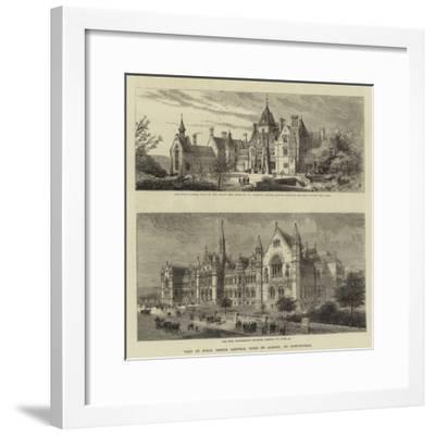 Visit of Hrh Prince Leopold, Duke of Albany, to Nottingham--Framed Giclee Print