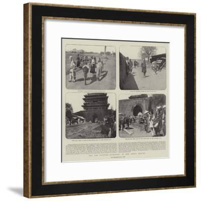 The Far Eastern Question, in and About Peking--Framed Giclee Print