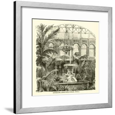 Interior, Horticultural Hall--Framed Giclee Print