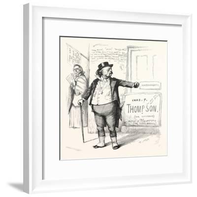 Toodles Ticket, 1880--Framed Giclee Print