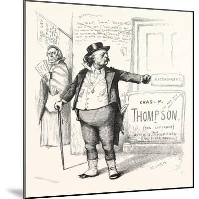 Toodles Ticket, 1880--Mounted Giclee Print