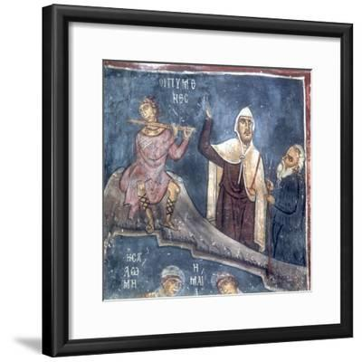 The Three Shepherds, Detail from the Nativity--Framed Giclee Print
