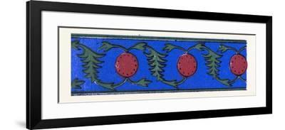 Persian Ornament--Framed Giclee Print