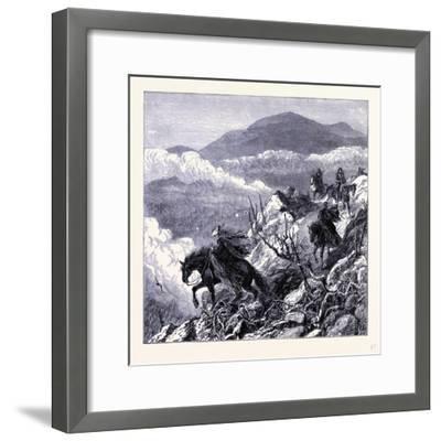 Mount Washington United States of America--Framed Giclee Print