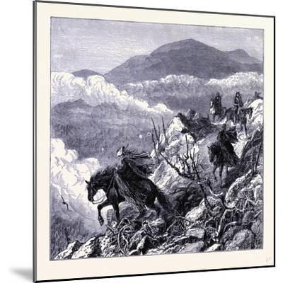 Mount Washington United States of America--Mounted Giclee Print