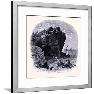 The Swallow Cave United States of America--Framed Giclee Print