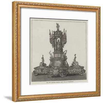 The Hop Bitters Trophy, Shot for at Wimbledon--Framed Giclee Print