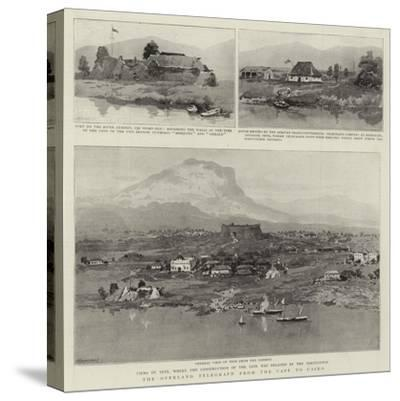 The Overland Telegraph from the Cape to Cairo--Stretched Canvas Print