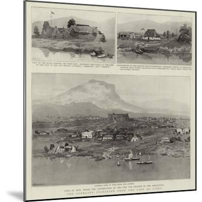 The Overland Telegraph from the Cape to Cairo--Mounted Giclee Print