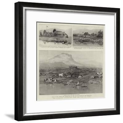 The Overland Telegraph from the Cape to Cairo--Framed Giclee Print